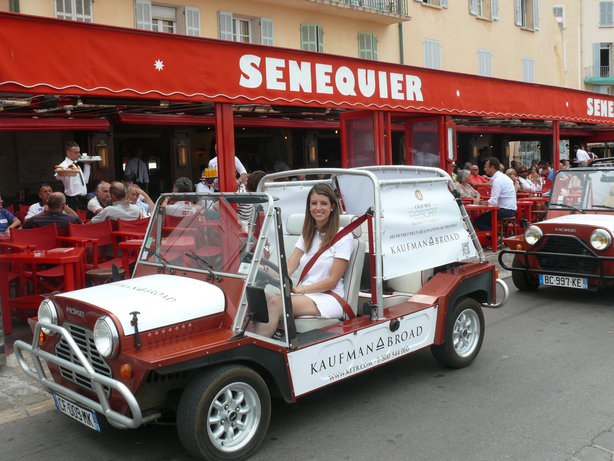 Mini Moke in St Tropez