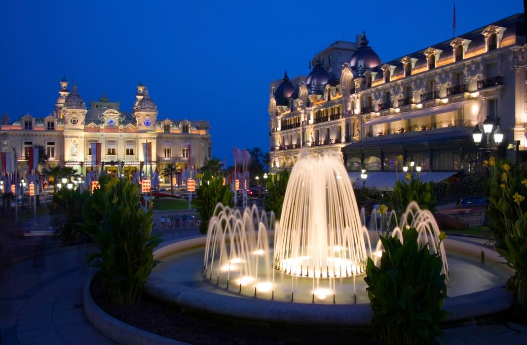 Casino Square in Monte-Carlo, Monaco