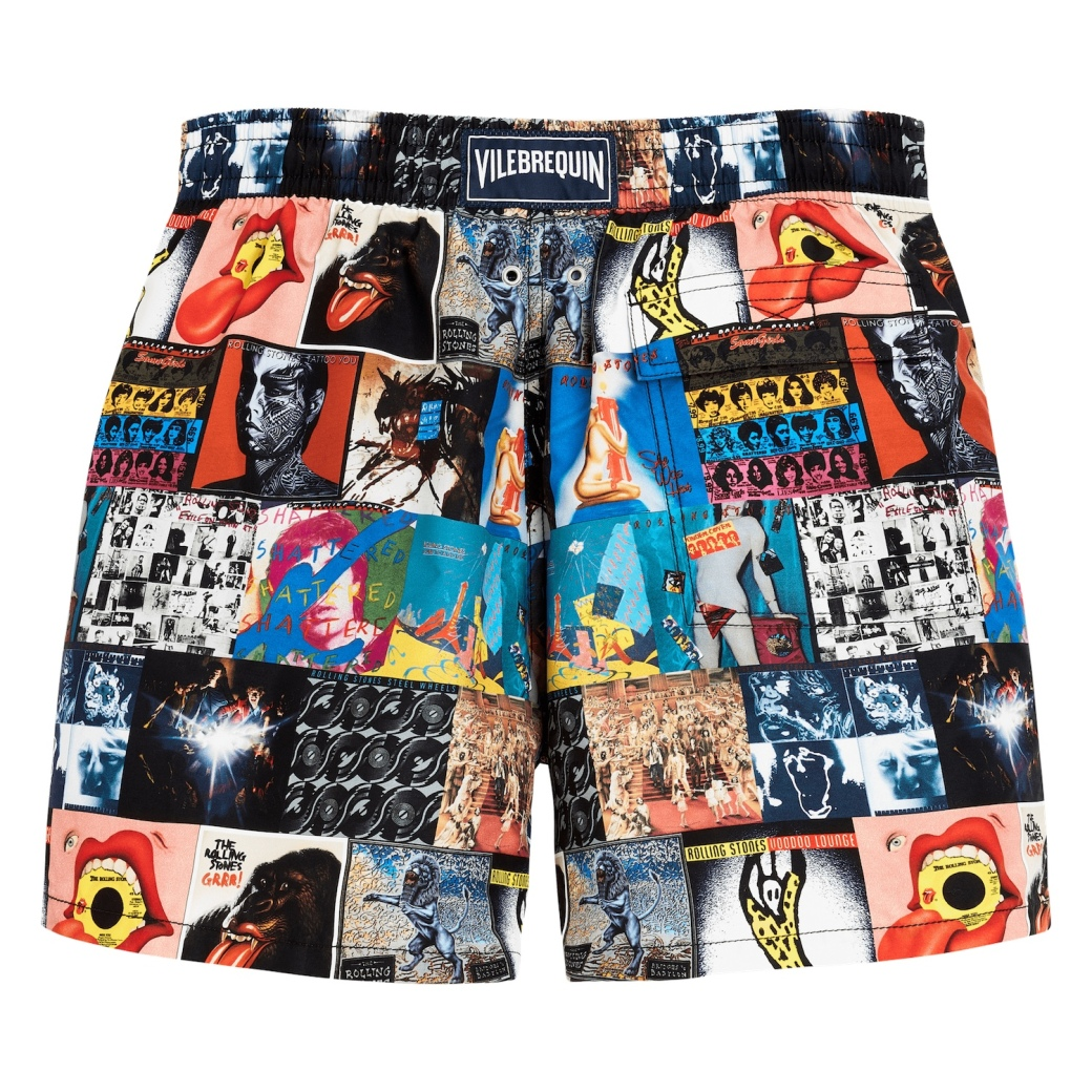 Vilebrequin Rolling Stones album cover swimming shorts