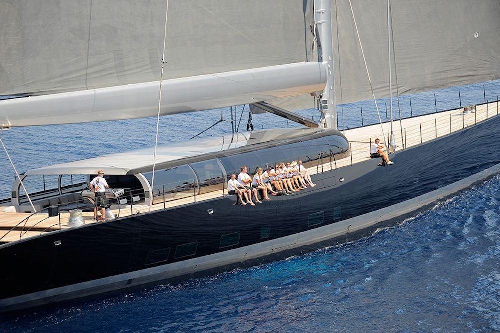AHIMSA sailing yacht