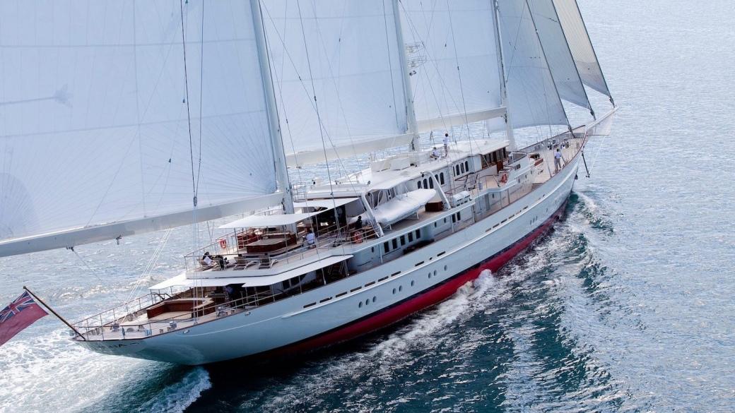 Athena sailing yacht