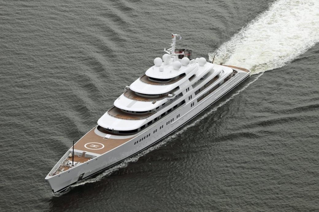 Superyacht AZZAM