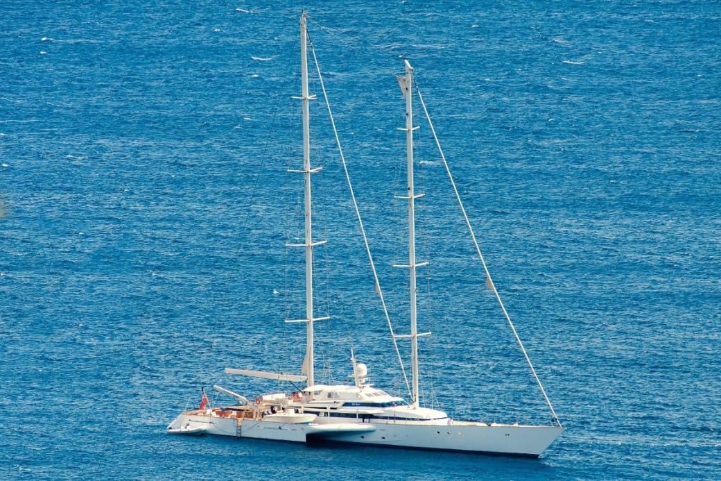 PILAR ROSSI sailing yacht