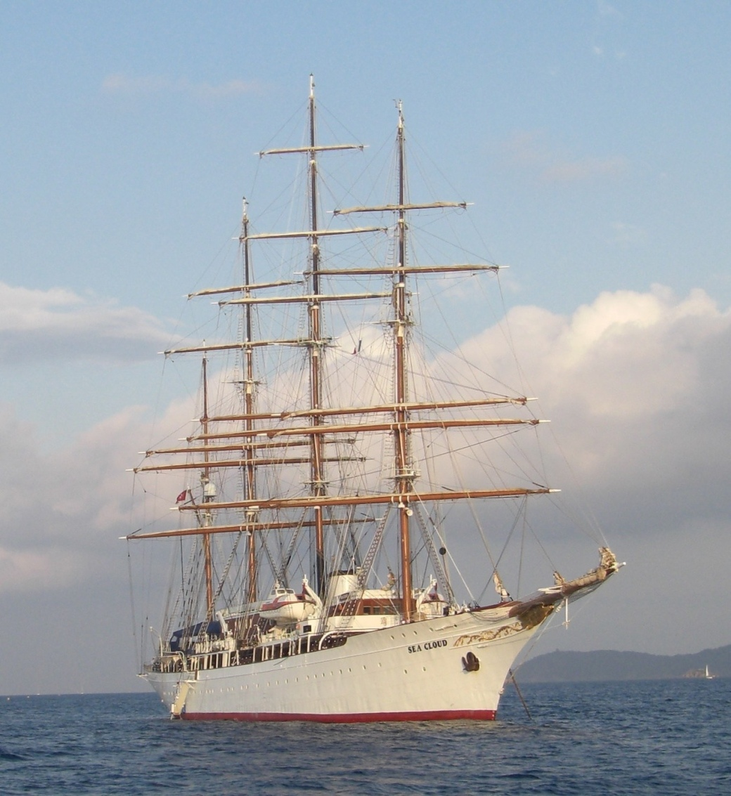 Sea Cloud large sailing yacht