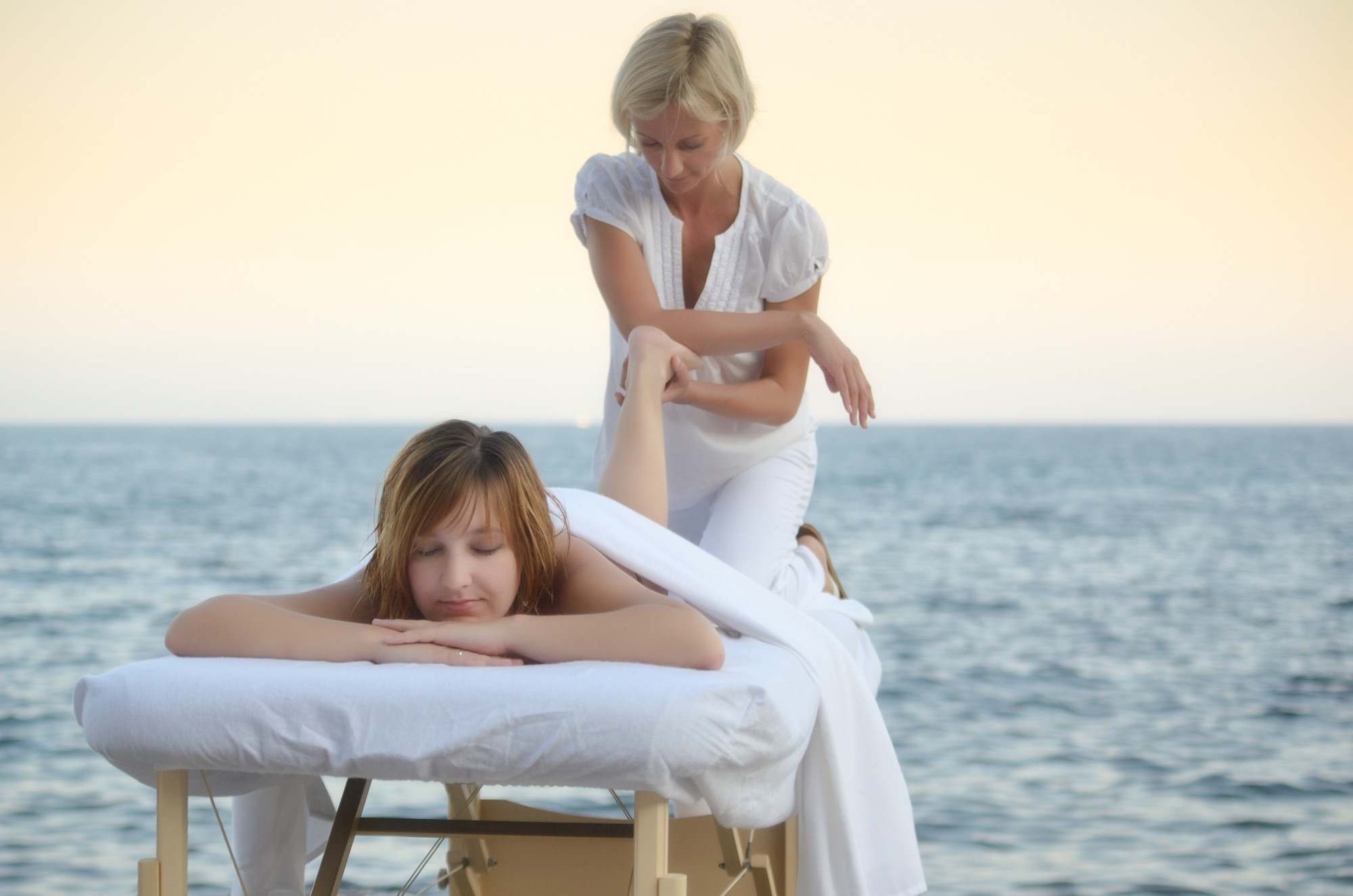 Massage érotique en bord de rivière