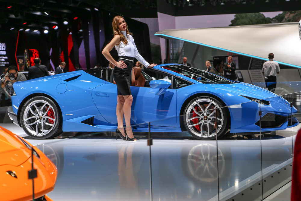 The Lamborghini Huracan LP 610-4 Spyder
