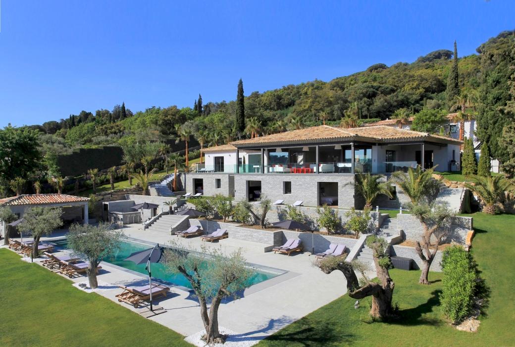 Villa Tennessee in St Tropez
