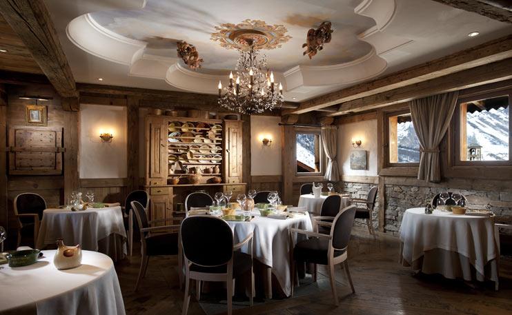 La Bouitte restaurant, Saint Martin de Belleville