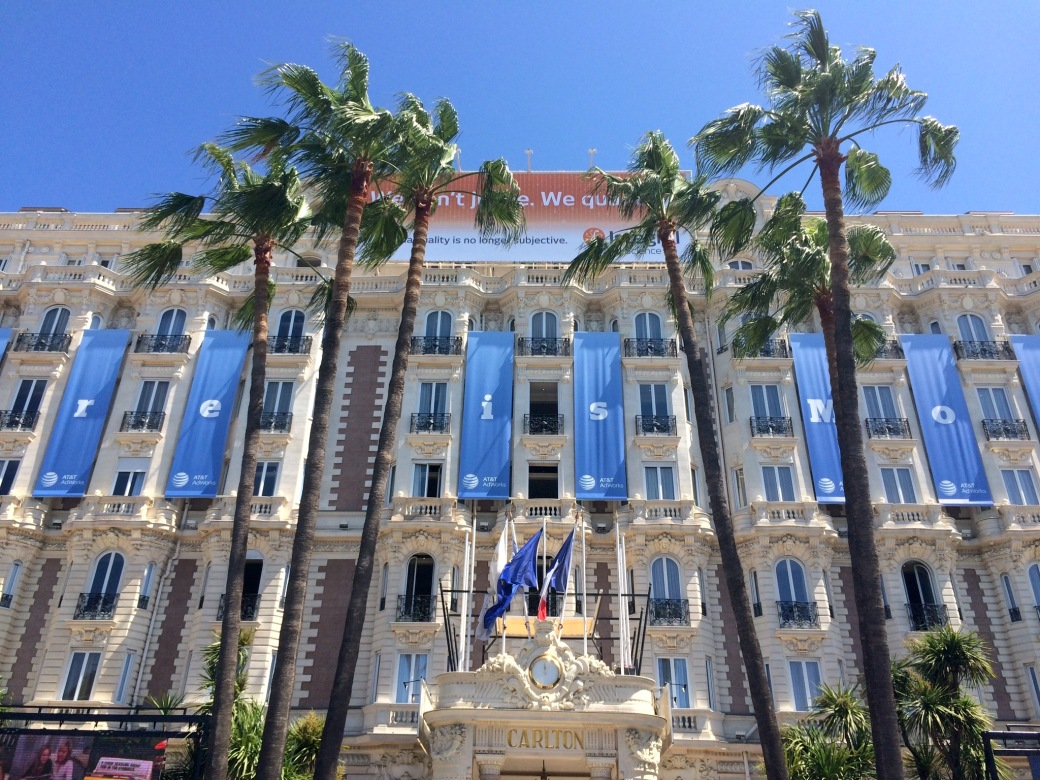 Carlton Hotel during Cannes Lions