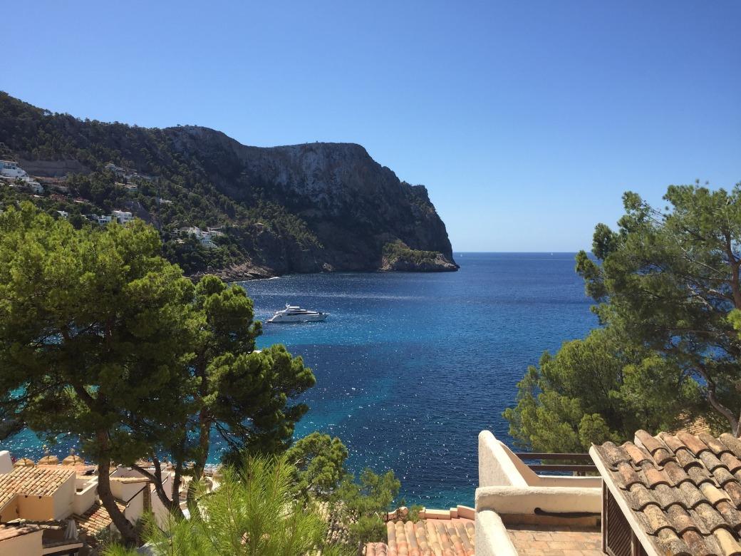 Luxury yacht in Mallorca