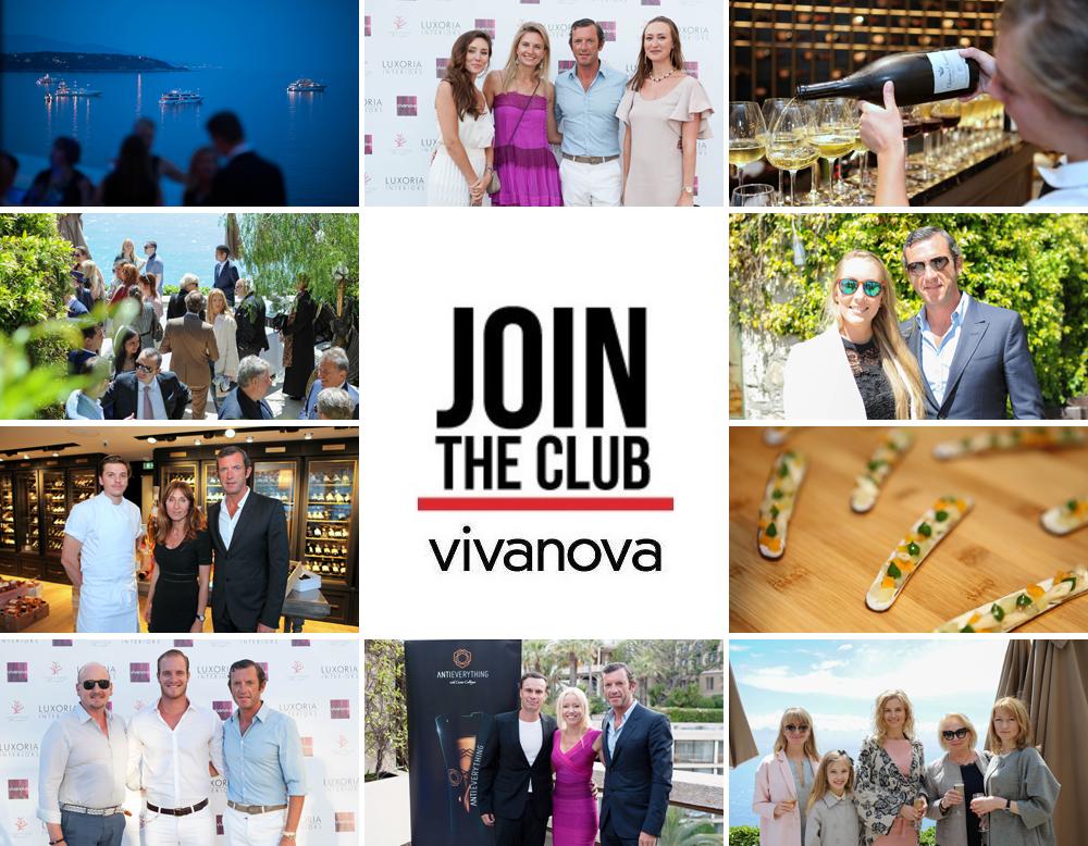Club Vivanova - event image collage