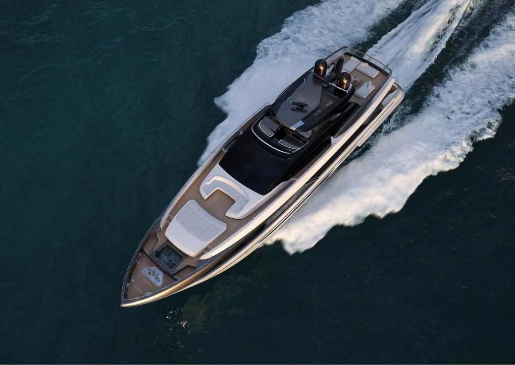 Riva 110 yacht
