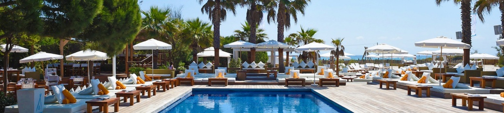 Nikki Beach in St Tropez, France