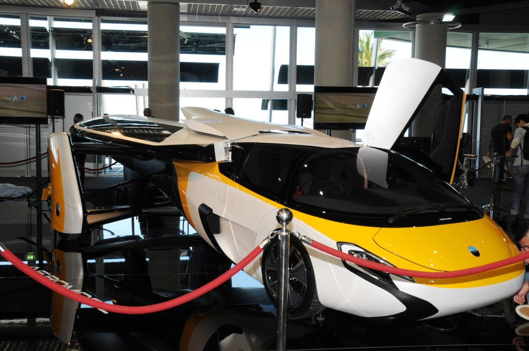 The AeroMobil at Top Marques Monaco