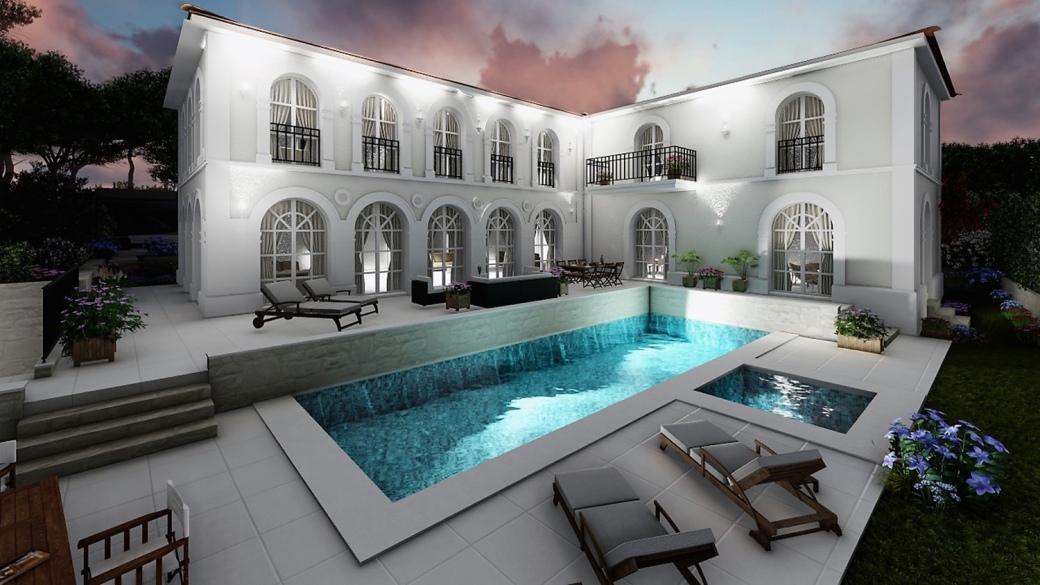 Villa Méditerranée in Mougins, French Riviera