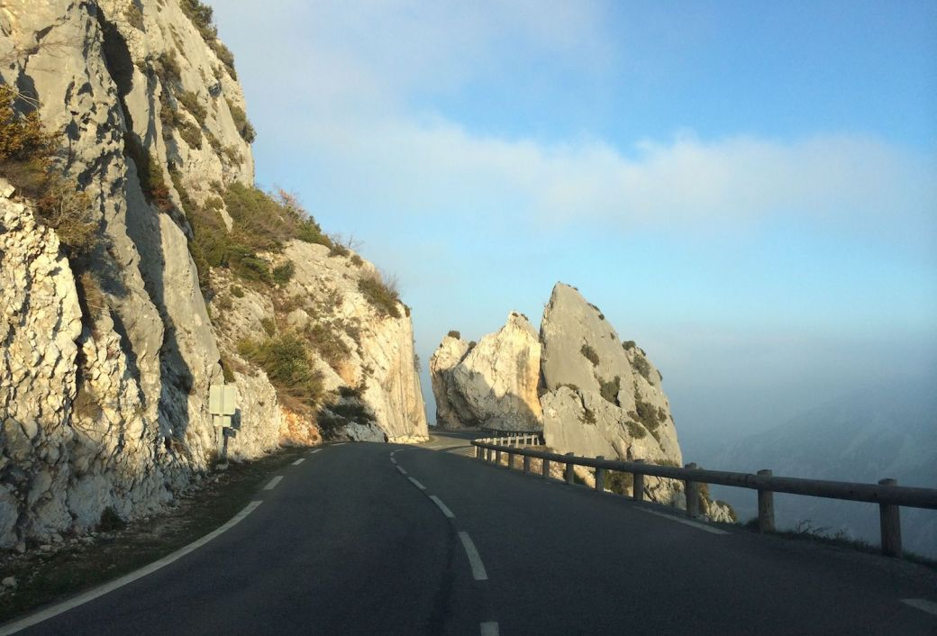 Route de Thorenc, south of France
