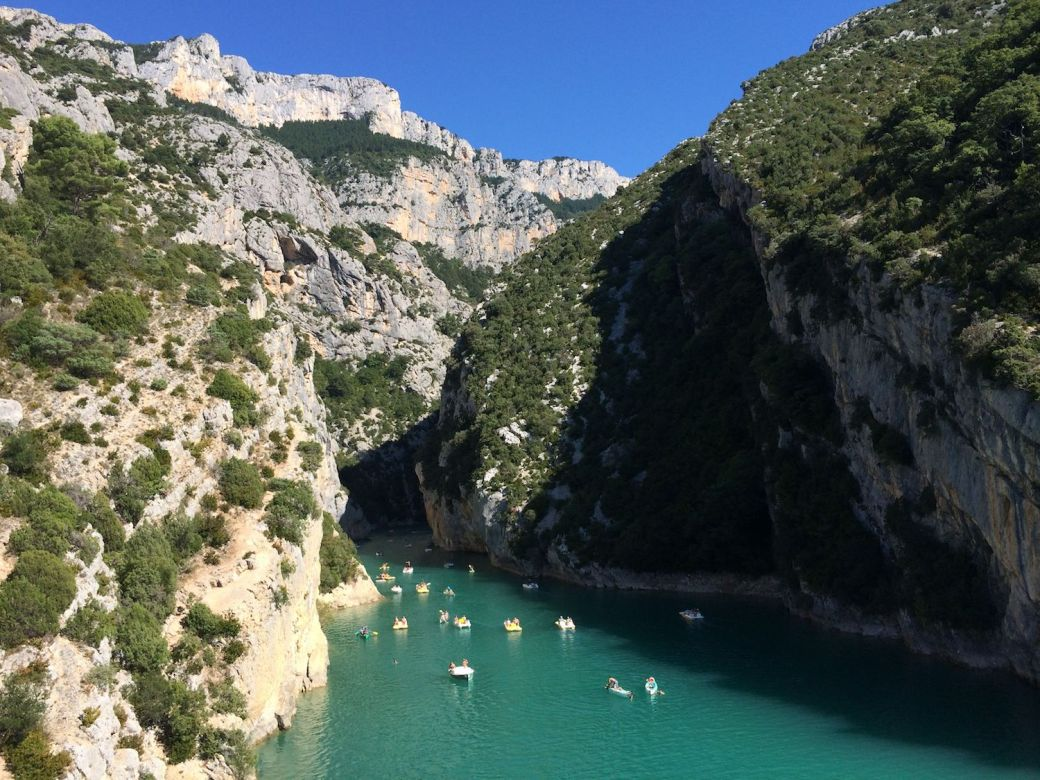 Stunning scenery in the south of France on driving tour