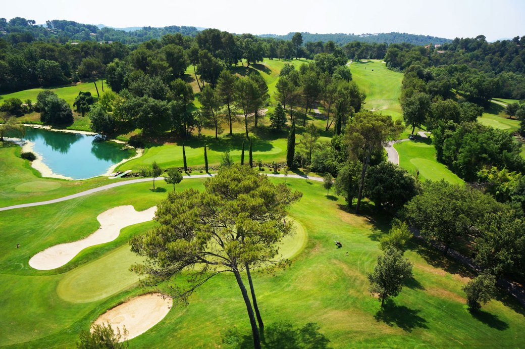 Golf de Saint Donat in the south of France