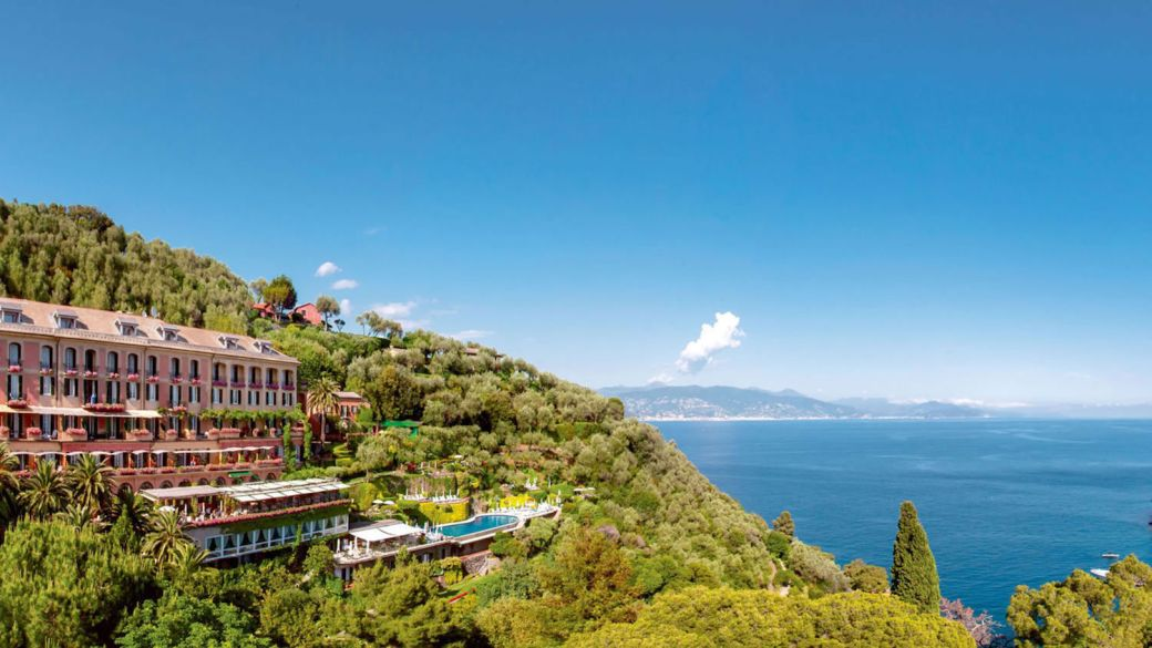Hotel Splendido in Portofino, Italy