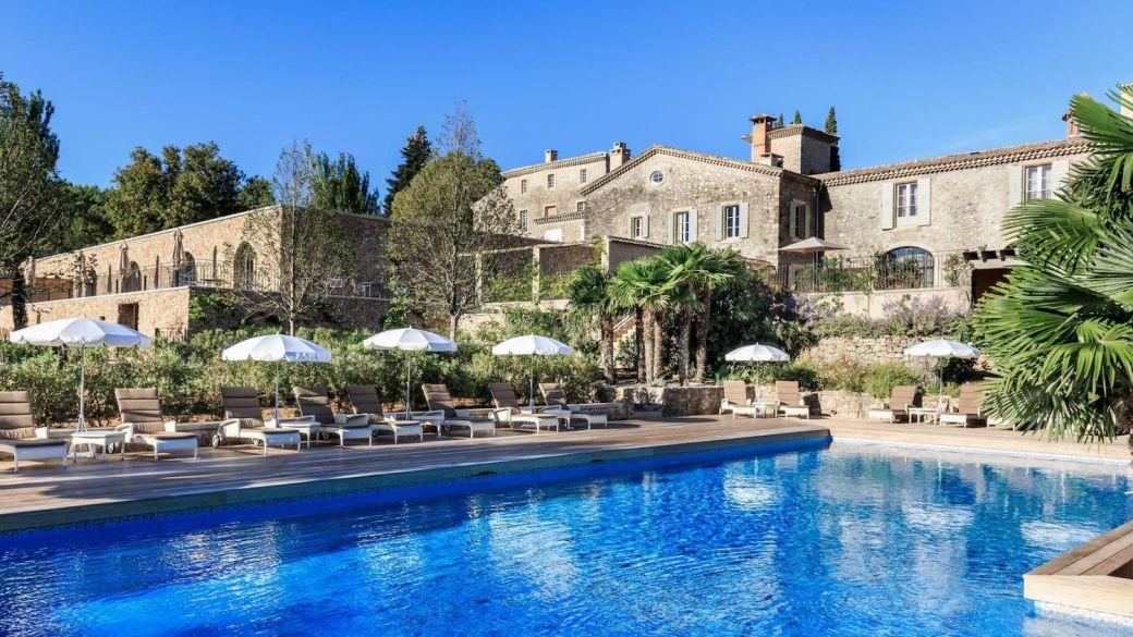Chateau de Berne swimming pool