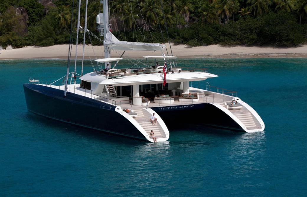 Sailing yacht Hemisphere