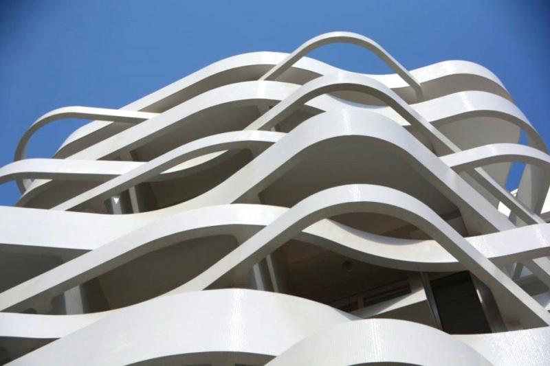 Le Stella apartment building in Monaco