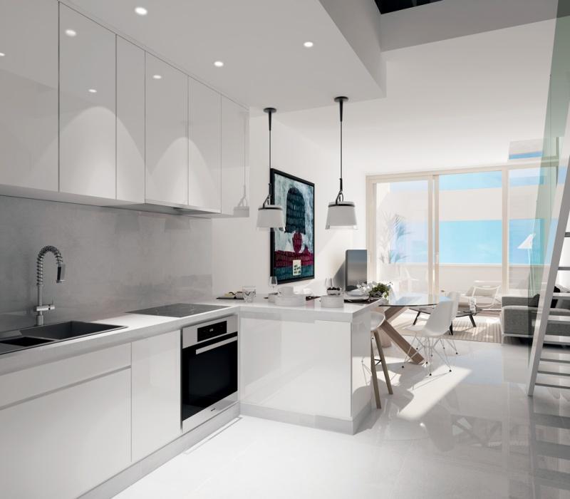 Interior of apartment in Le Stella, Monaco
